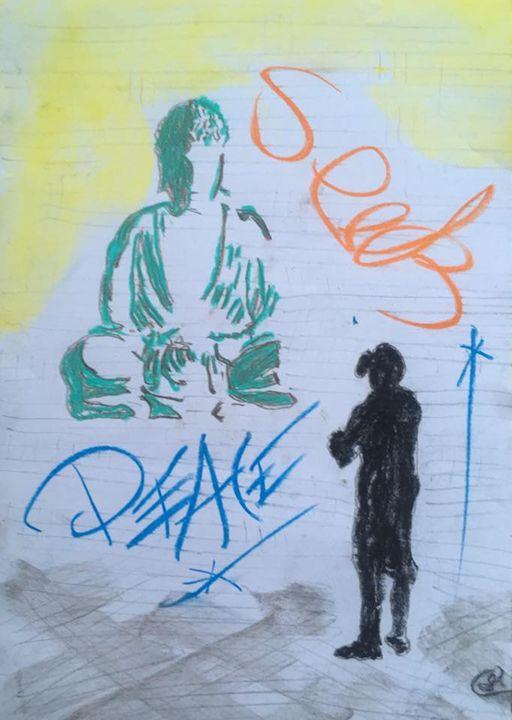 SEEK PEACE - Charlesy not Banksy
