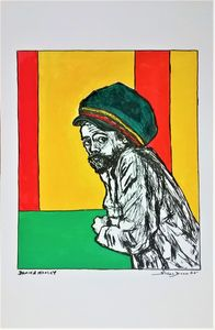 Damian Marley Fine Art Print reggae