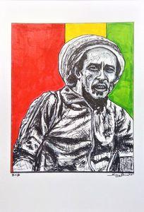 Bob Marley Fine Art Print reggae