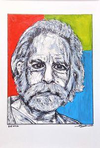 Bob Weir Fine Art Print