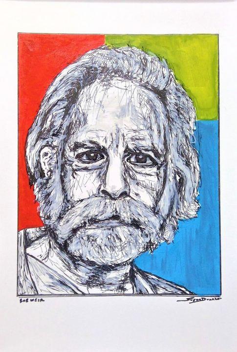 Bob Weir Fine Art Print - Susan Dunn