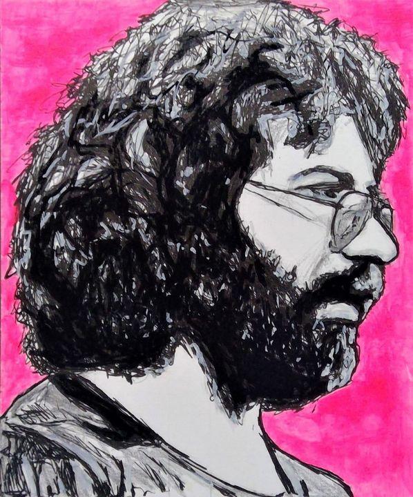 Jerry Garcia Fine Art Print - Susan Dunn