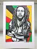 Bob Marley Fine Art Print