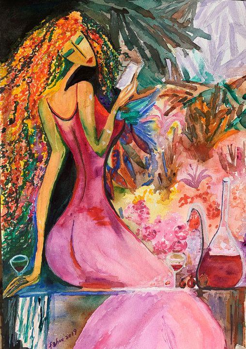 The Secret Garden - Florence Zhou 's Fine Art