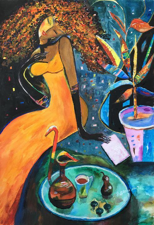 The Letter - Florence Zhou 's Fine Art