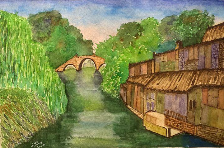 WuZhen Memories - Florence Zhou 's Fine Art