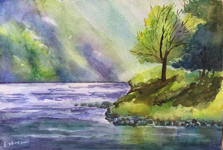Loch - Florence Zhou 's Fine Art