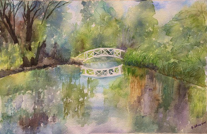 Stillness - Florence Zhou 's Fine Art