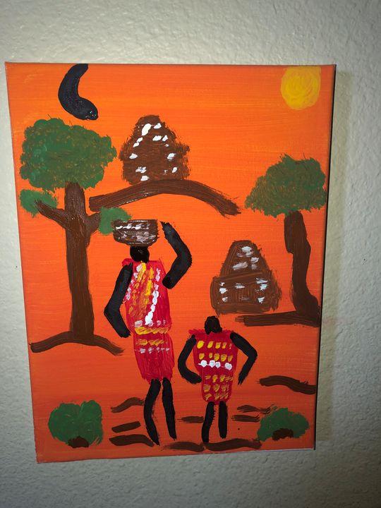 African Village - High I'm Darrin