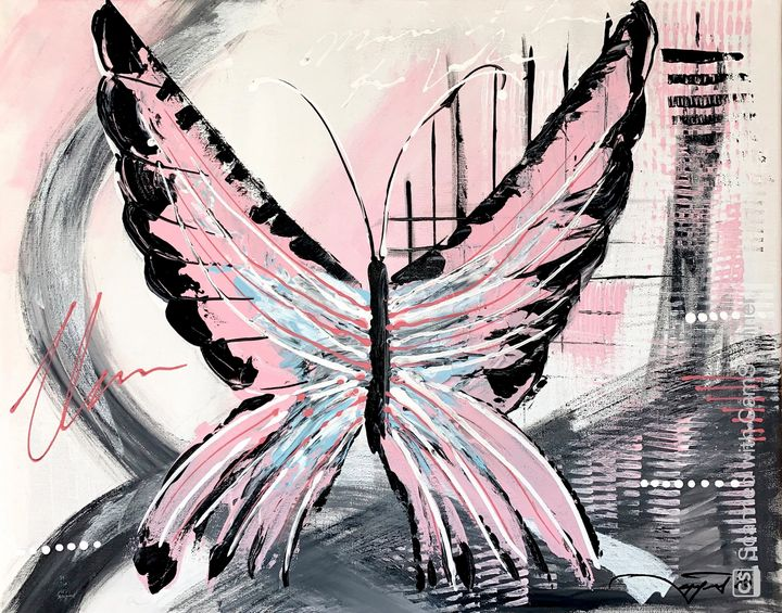 My Pink Butterfly - Sanel Celjo