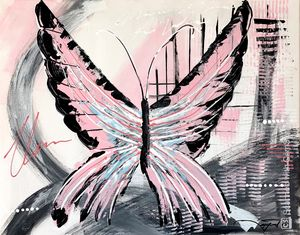 My Pink Butterfly