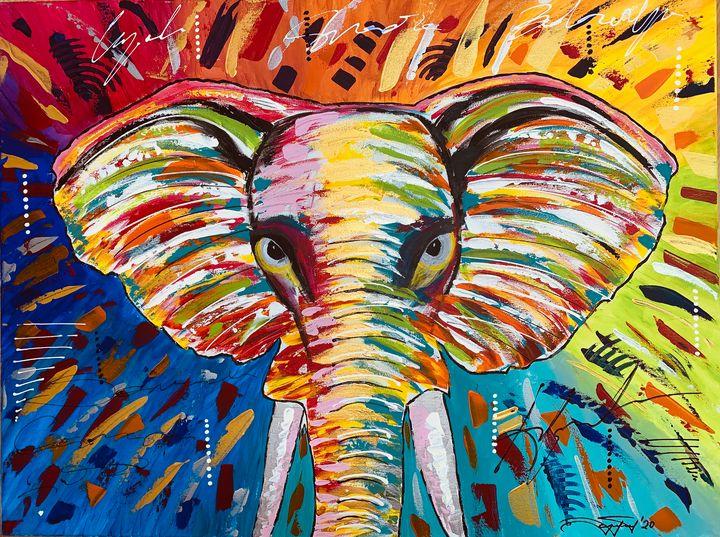 Golden Elephant - Sanel Celjo