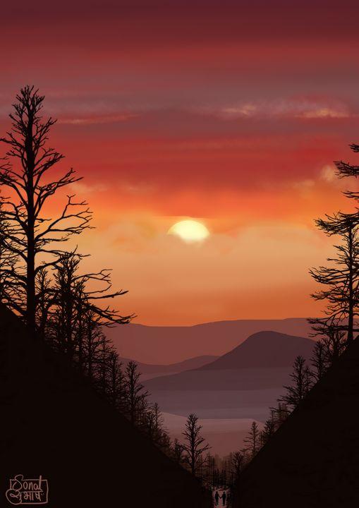 Sunset ! - Sonal Subhash