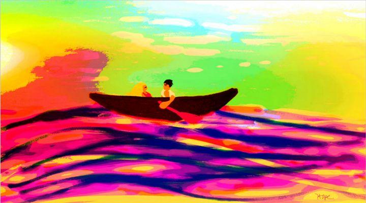 boat ride - mewmewtrey