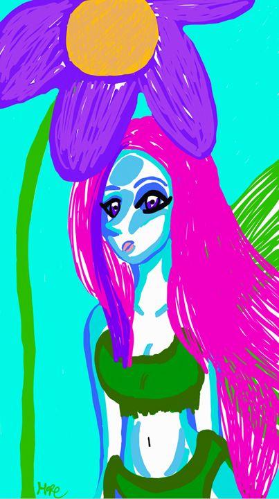 lovely fairy lady - mewmewtrey