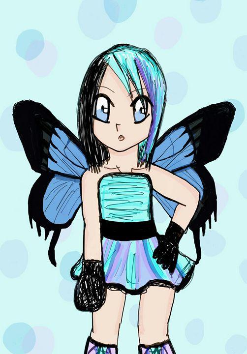 cute little fairy girl - mewmewtrey