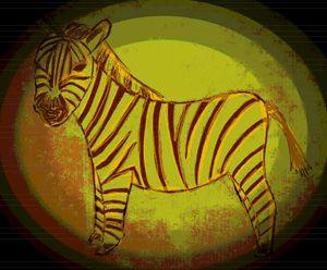 golden zebra - mewmewtrey