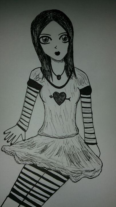 Gothic lady - mewmewtrey