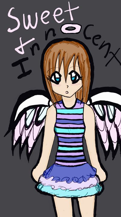 sweet and innocent angel - mewmewtrey
