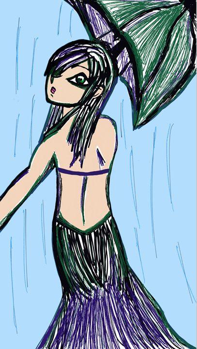beauty under the umbrella - mewmewtrey