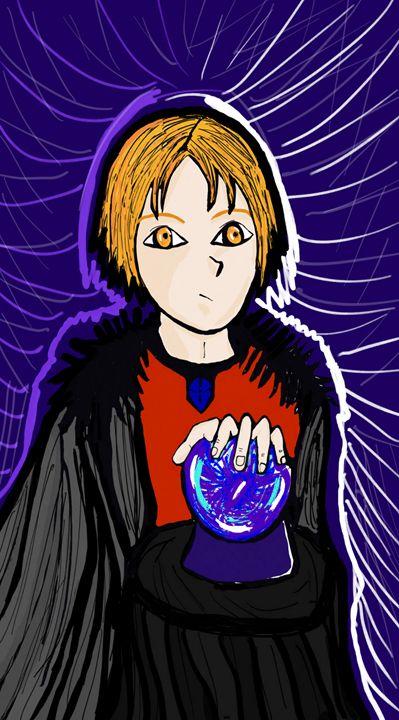 Crystal ball - mewmewtrey