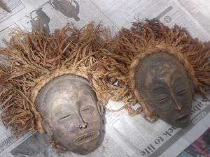 THE FRATERNAL TWINS - Raw African Art