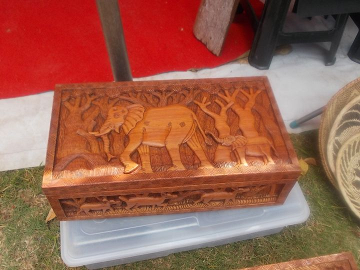 JEWELRY BOX - Raw African Art