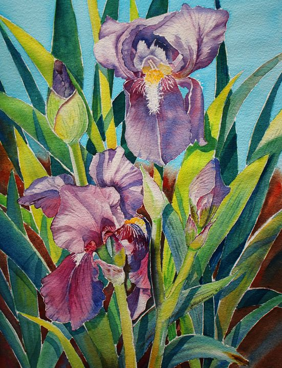 Irish Lily II - Jelly's Arts