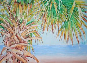 Palm Tree - Mexican Palm Tree - Jelly's Arts