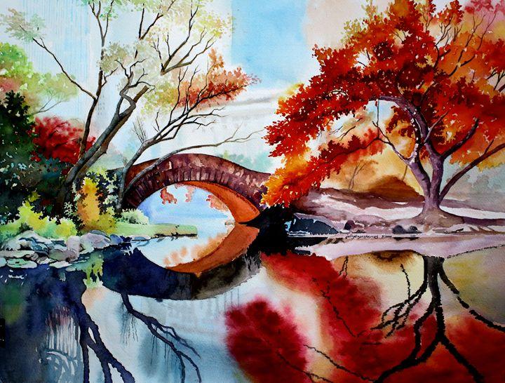 Gapstow Bridge, NY - Jelly's Arts