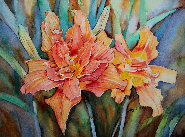 Orange Lily III - Jelly's Arts