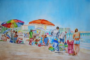 Summer in Myrtle Beach - Jelly's Arts