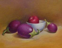 Egg Plant - Still Lifes By Larry Tran