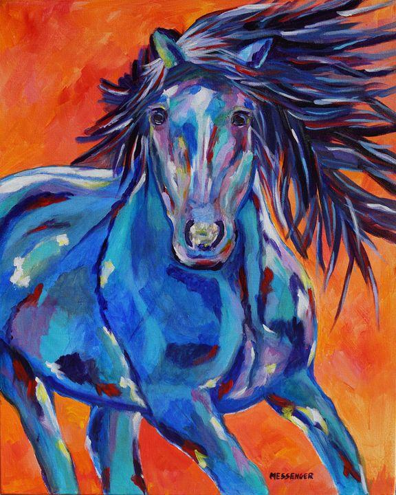 The Wild One - Denise Messenger Horse Art