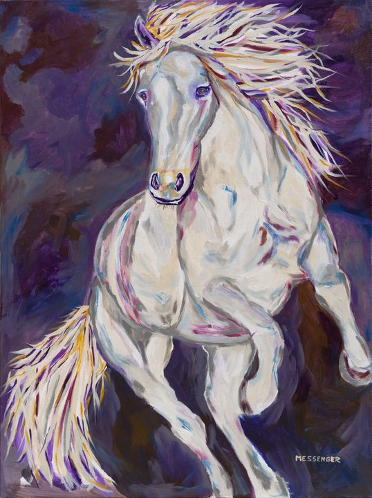 High quality Canvas print Unframed or Framed Horse Painting watercolor