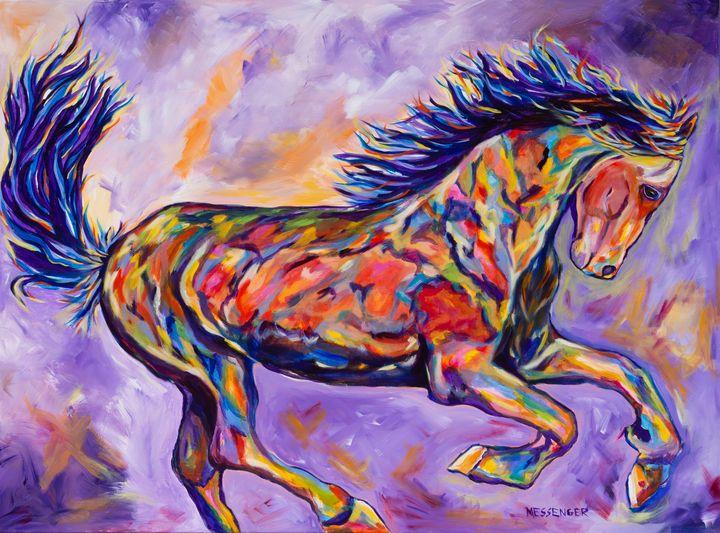 Challenger - Denise Messenger Horse Art