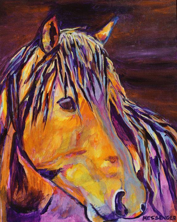 The Bachelor - Denise Messenger Horse Art