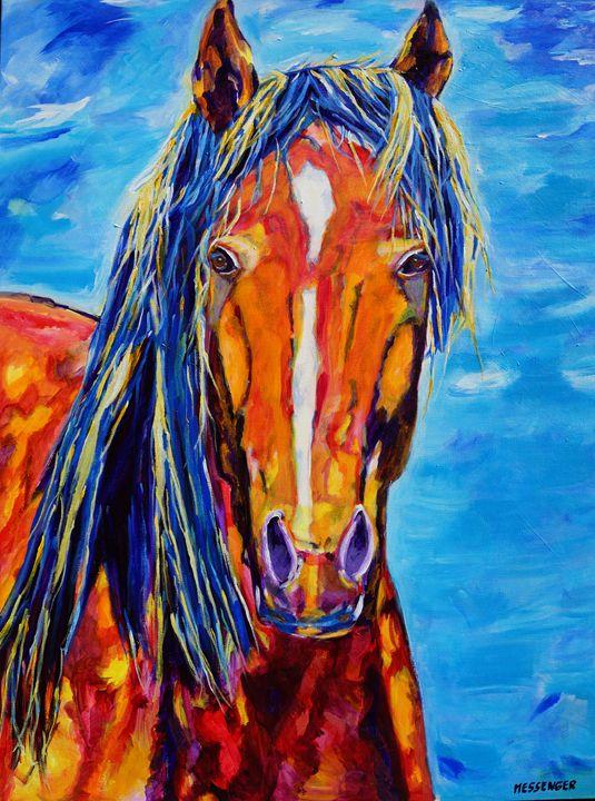 Chosen - Denise Messenger Horse Art