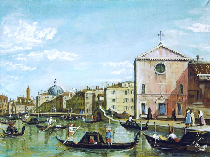 Copy of Canaletto school painter - K k gallery