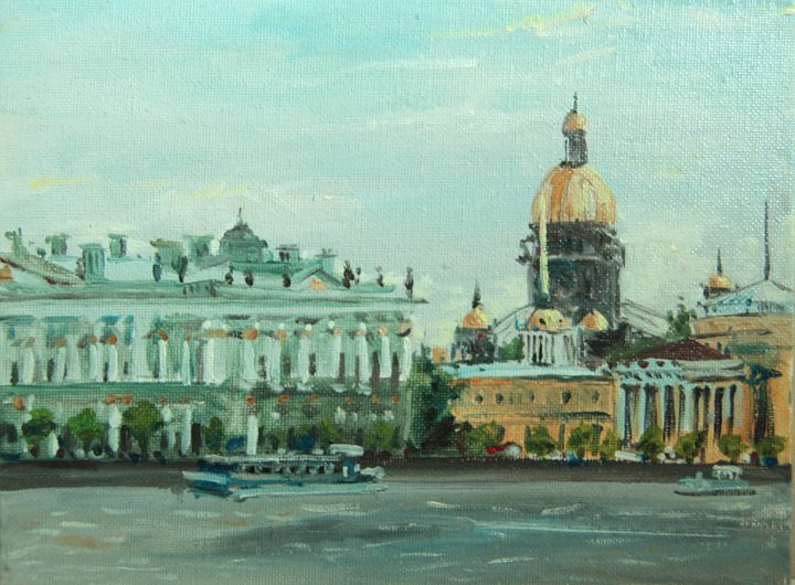 View on Winter Palace. - K k gallery