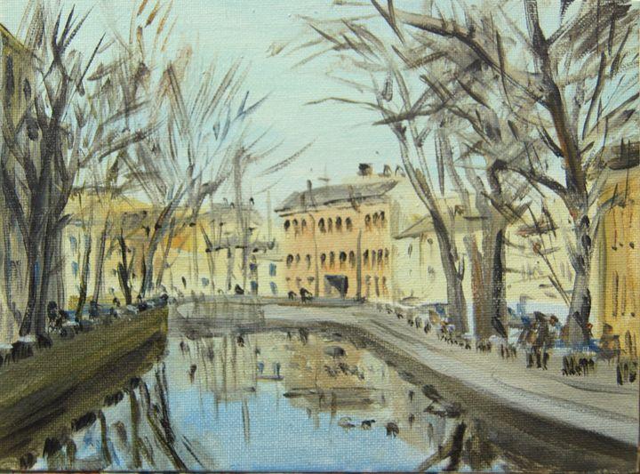 Fontanka River. - K k gallery