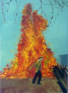 Junkyard Fire