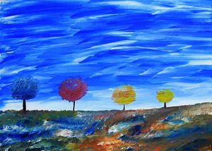 The Four Tree Forest
