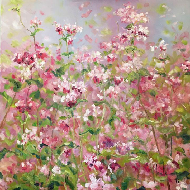 Buckwheat flower field - HoaLeArt
