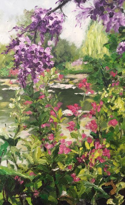 Giverny Garden II - HoaLeArt