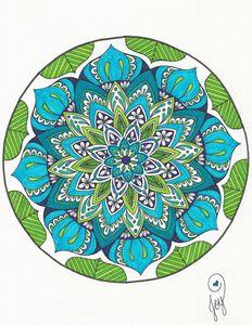 Cool Blue Lotus