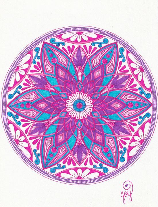 Lavender Lotus - Joy Gillard