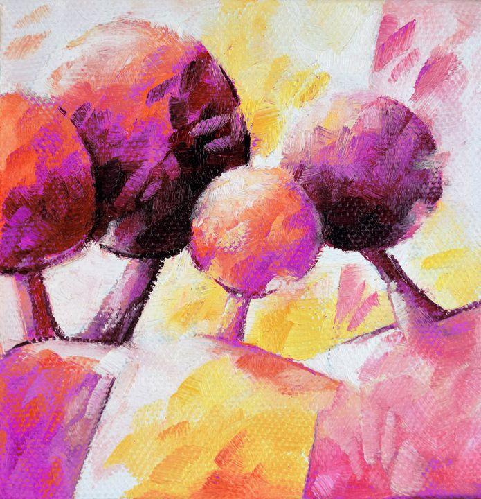 Pink trees 019 - Beatrice BEDEUR