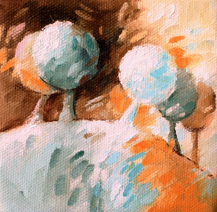Brown landscape 037 - Beatrice BEDEUR