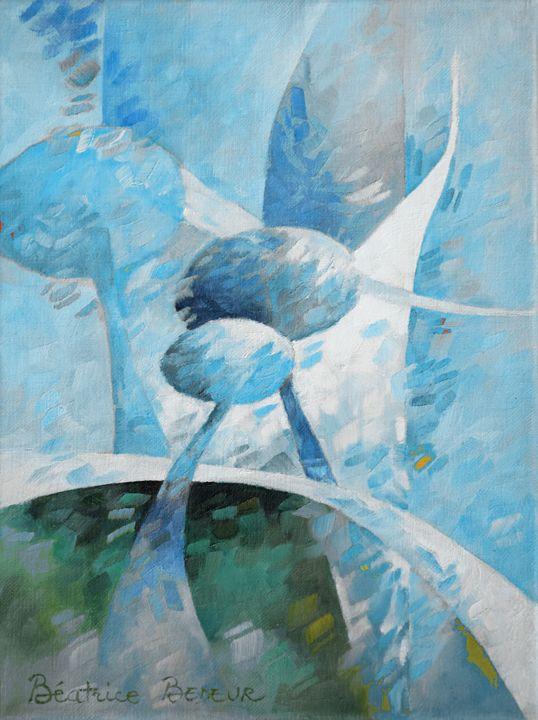 Blue 052 - Beatrice BEDEUR